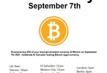 Photo of Tomorrow, The Community Will Buy $30 In BTC To Support El Salvador's Bitcoin Law